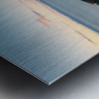 Lanse rocheuse Impression metal