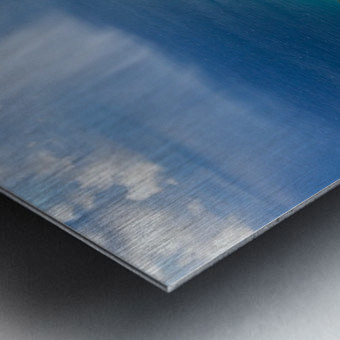 The Cliff Sides of Kauai Metal print