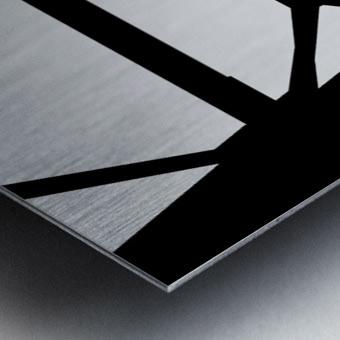 Bridge I Metal print