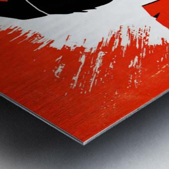 hal decker artist baltimore orioles poster Impression metal