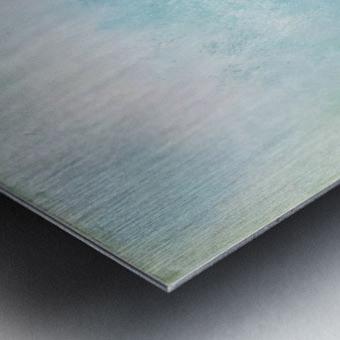 No Surrender Blue III Metal print