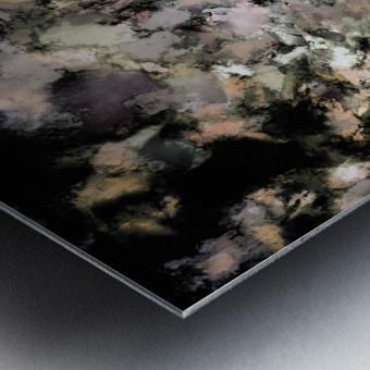 Crust Metal print