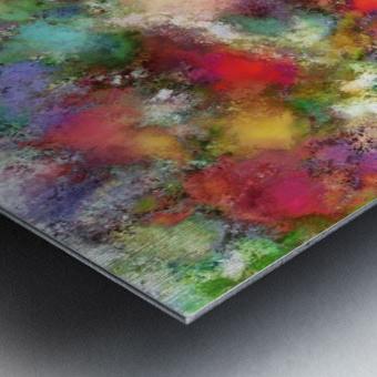 Falling petals Metal print