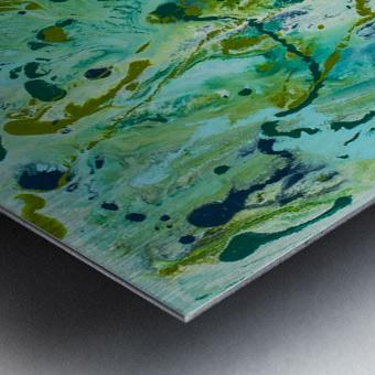 Seaweed Confetti Metal print