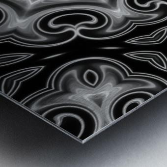 Abstract digital Art Metal print