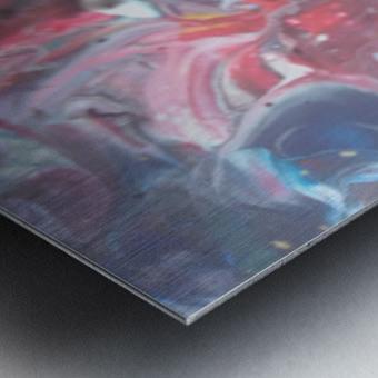 purgutry Metal print