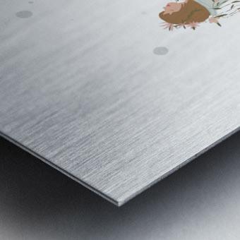 greentherapy Metal print