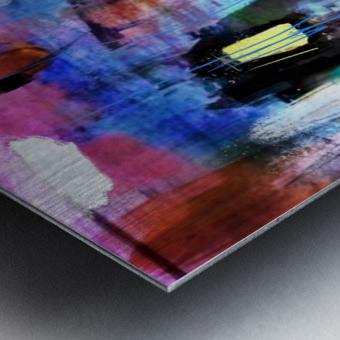 Through the Rain Metal print