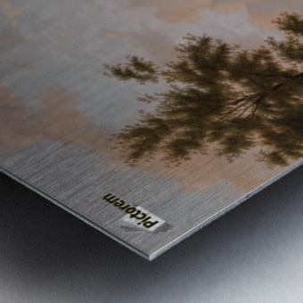 Capriccio stadsgezicht, elementen Deventer Metal print