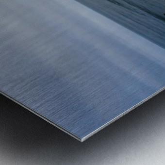 Huntington Beach Panorama Metal print