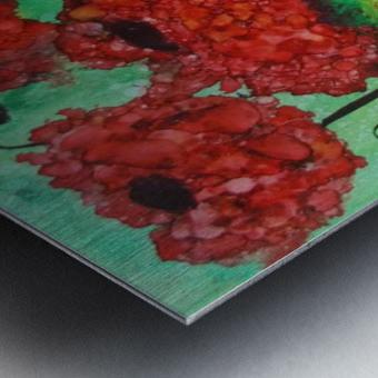Thinking of Poppies Metal print