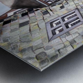 Liege Castle French Provenance  Metal print