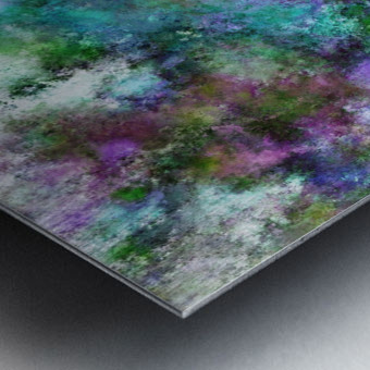 A fluid situation Metal print