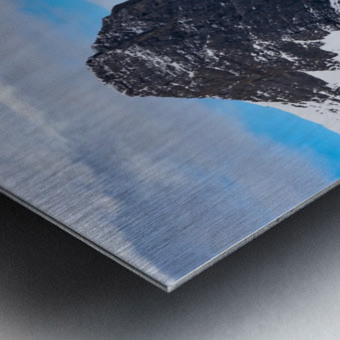 Ha Ling Mountain  Metal print