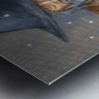 Vestige Metal print