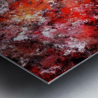 The red sea foam Metal print
