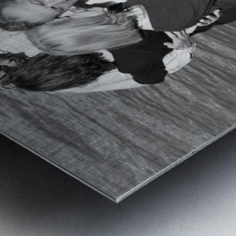 Salsa de la Seine Metal print