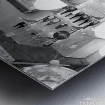 Soiree dans le Griffon Metal print