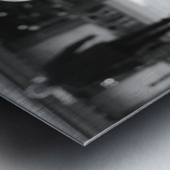 Dernier The Metal print