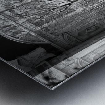 Couche du Soleil Louvre Metal print
