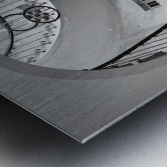 Escalier Monumental Metal print