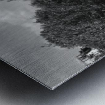 Ile de la Cite Metal print