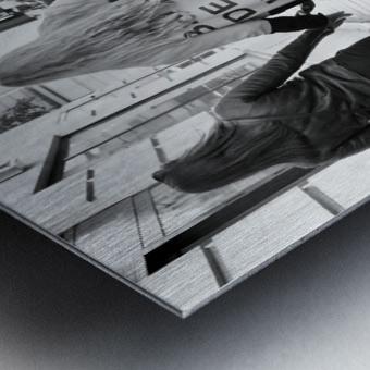 Bande de Meufs Metal print