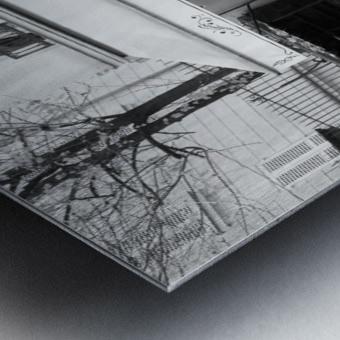 Les Abesses Metal print