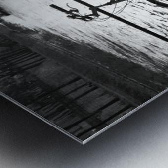 Couche du Soleil - La Seine Metal print