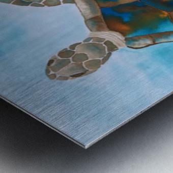 Turtle Island Breaths Again Metal print