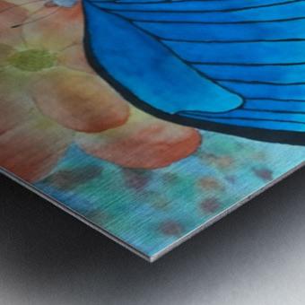 Emergence II Metal print