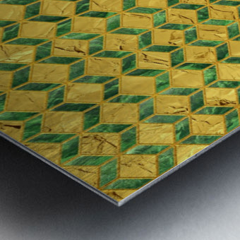 Geometric  XXXXIX  Metal print
