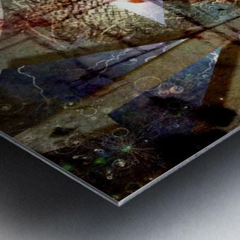 The Shards of Reality Metal print