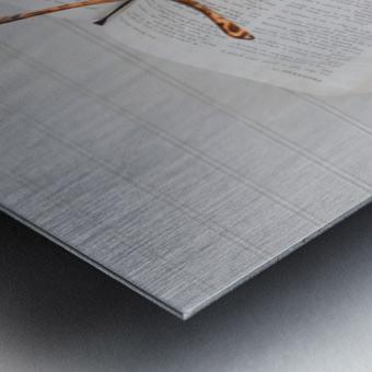 Research Paper Metal print