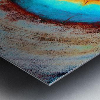 Glimpse of Black Hole No.1 Metal print