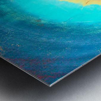 Glimpse of Black Hole No.3 Metal print