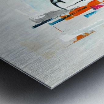 MCM Urban VII Metal print