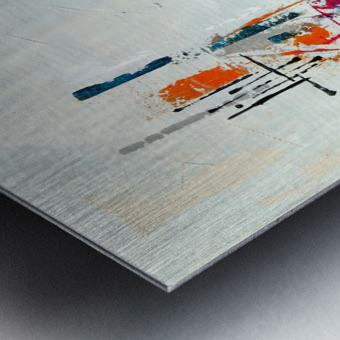 MCM urban VIII Metal print
