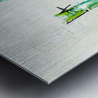 Primavera II Metal print