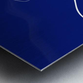 Glossy Marble Metal print