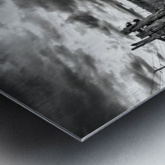 The Barnyard Metal print
