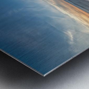 Coastal Sunset Metal print