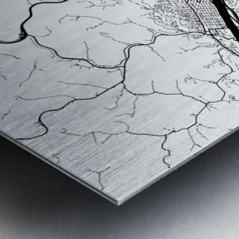 Charleston USA Metal print