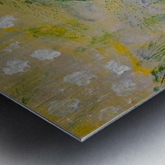 Impressions of Hydrangea II Metal print