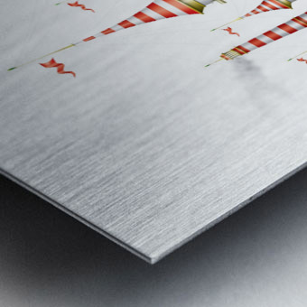 Crocciere Caravelle Metal print
