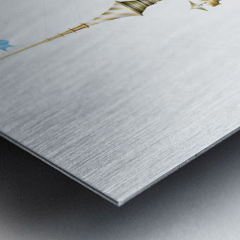 Gondolino Castellini Metal print