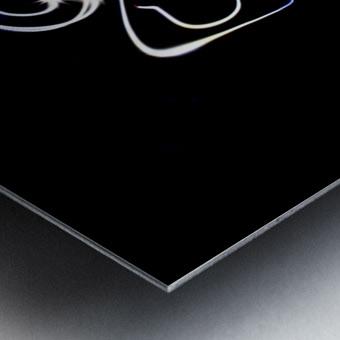 Stickman light comfort Metal print