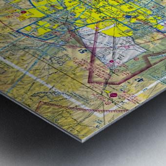 Phoenix AZ Aeronautical Wall Art Metal print