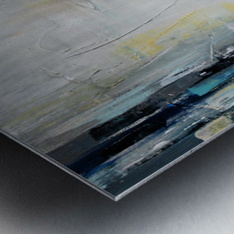 Art deco Moonshine V Metal print