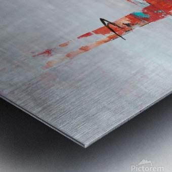 Urban Alley I Metal print